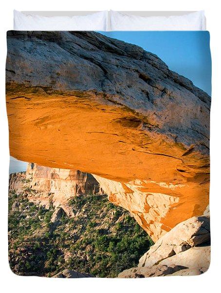 Golden Arch Duvet Cover