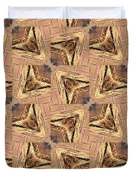 Golden Arrowheads Duvet Cover