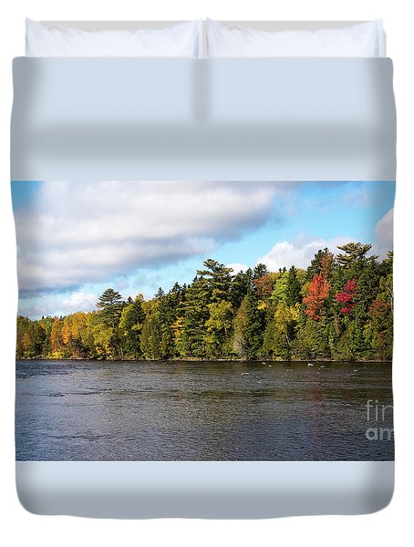 Golden Autum Day Duvet Cover