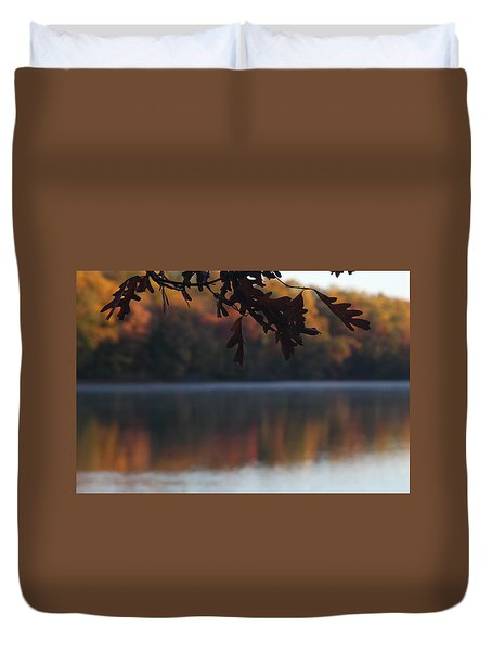 Duvet Cover featuring the photograph Golden Autumn by Vadim Levin