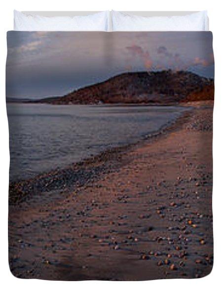 Golden Beach Duvet Cover