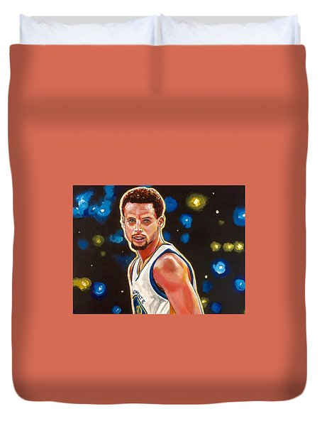 Golden Boy Duvet Cover