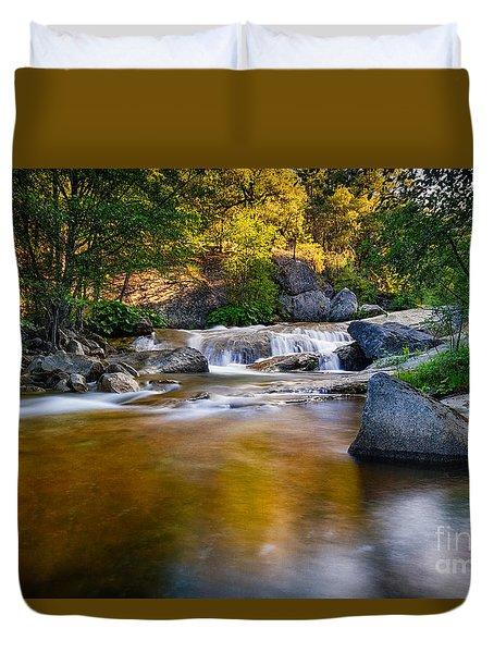 Golden Calm Duvet Cover