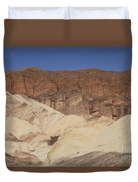 Golden Canyon Duvet Cover