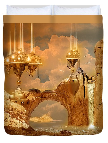 Golden City Duvet Cover