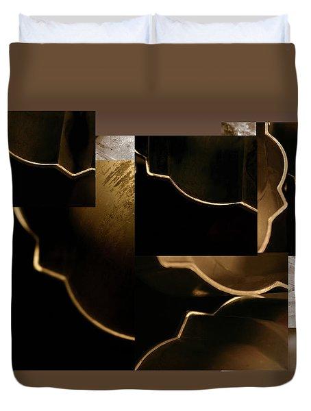 Golden Curves - Duvet Cover