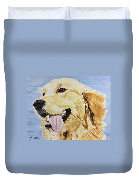 Golden Day Duvet Cover