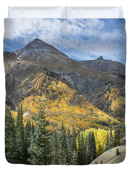 Golden Days Duvet Cover