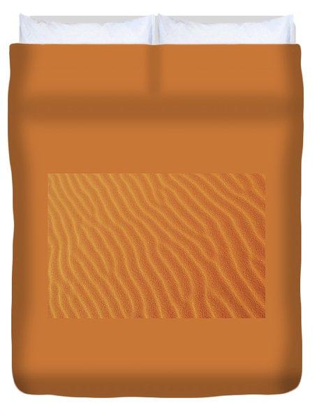 Golden Desert Sands Duvet Cover