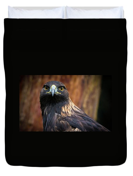 Golden Eagle 1 Duvet Cover