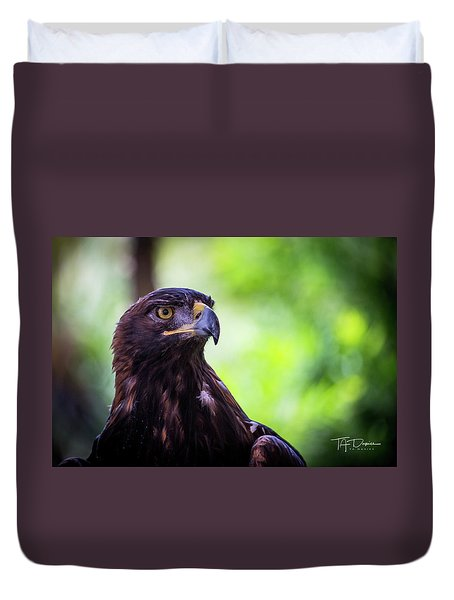 Golden Eagle 2 Duvet Cover