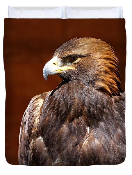 Golden Eagle - Royalty Duvet Cover