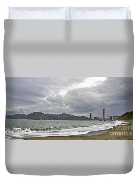 Golden Gate Study #2 Duvet Cover