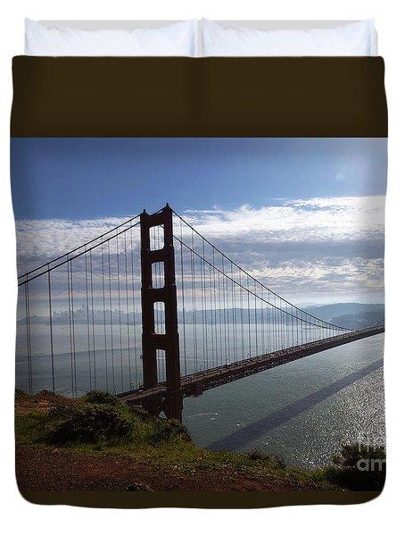 Golden Gate Bridge-2 Duvet Cover