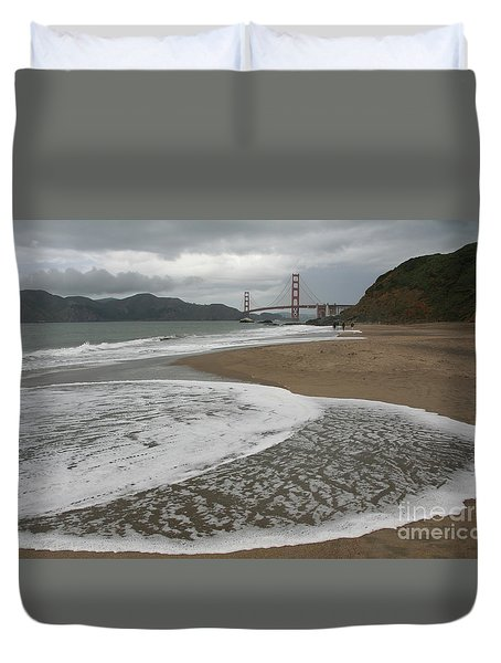 Golden Gate Study #3 Duvet Cover
