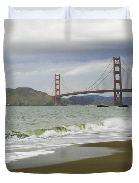 Golden Gate Bridge #4 Duvet Cover