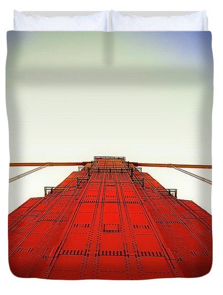 Golden Gate Bridge 1 Duvet Cover