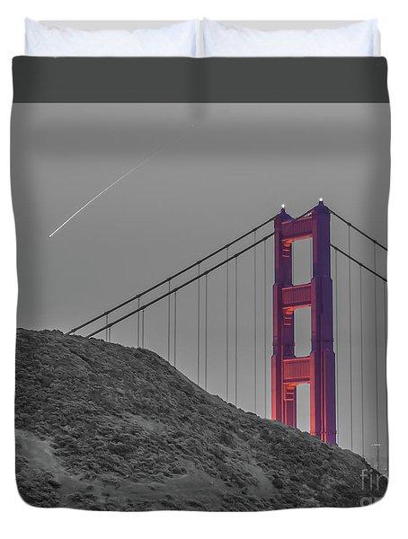 Golden Gate  Duvet Cover