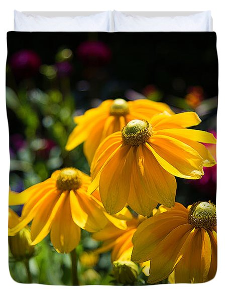 Golden Glow Duvet Cover