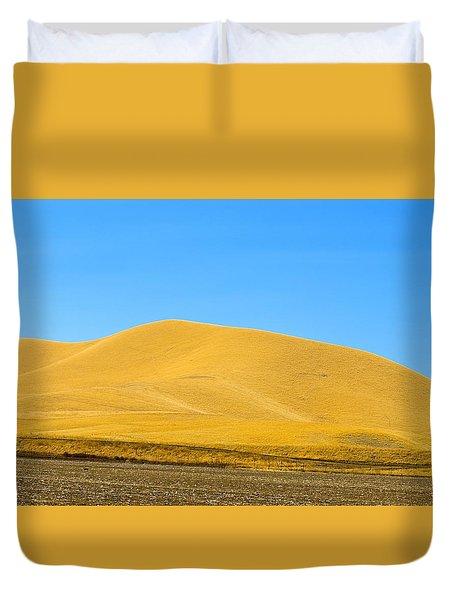 Golden Hill Duvet Cover