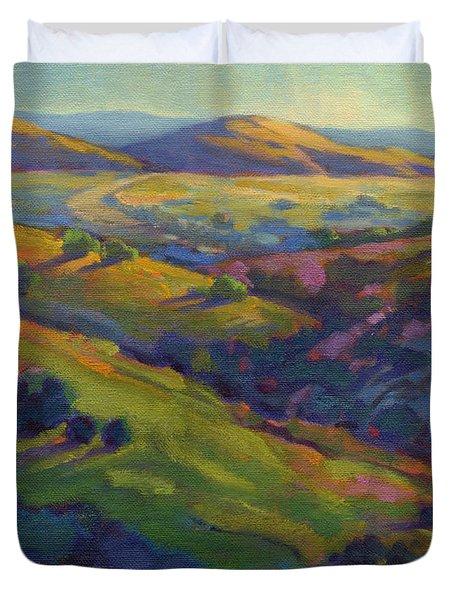 Golden Hills Duvet Cover