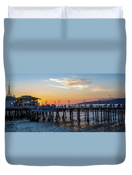 Golden Hour - Panorama Duvet Cover