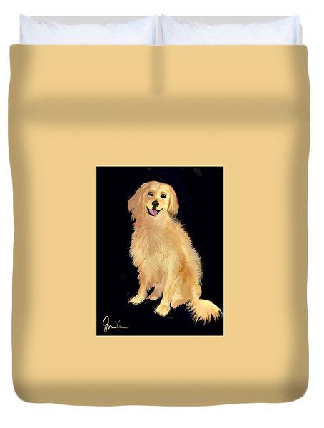 Golden Lab Duvet Cover