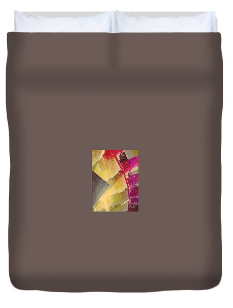 Golden Light Duvet Cover