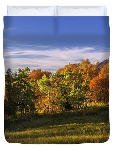 Golden Meadow Duvet Cover