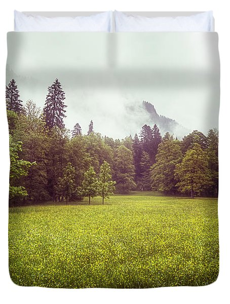 Golden Meadows Duvet Cover