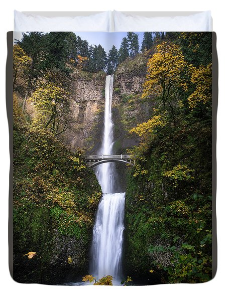 Golden Multnomah Duvet Cover