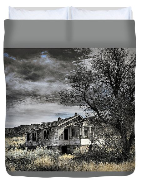 Golden New Mexico Duvet Cover