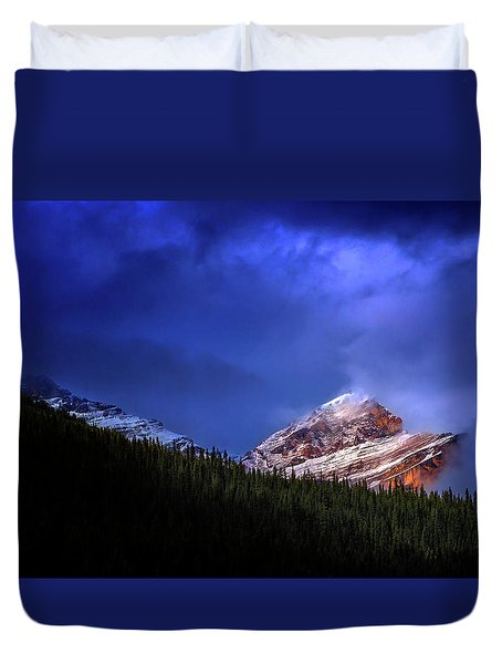 Duvet Cover featuring the photograph Golden Nugget by John Poon