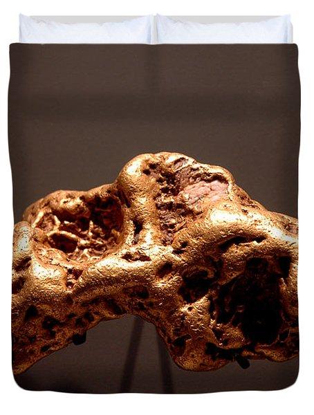Golden Nugget Duvet Cover by LeeAnn McLaneGoetz McLaneGoetzStudioLLCcom