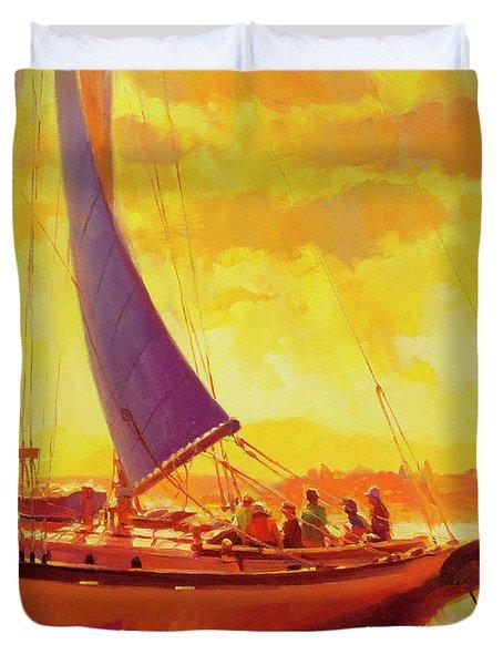 Golden Opportunity Duvet Cover