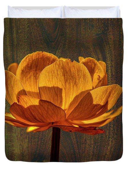 Golden Orange #g0 Duvet Cover by Leif Sohlman