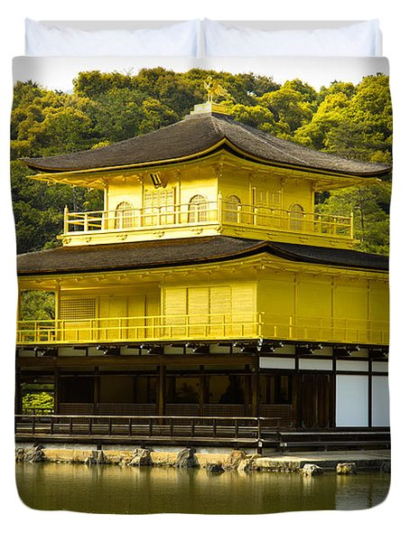 Golden Palace Duvet Cover