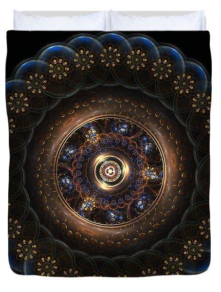 Golden Paradox Duvet Cover
