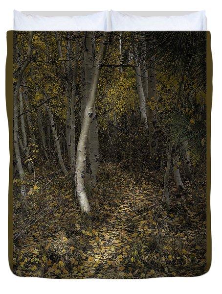 Golden Path Duvet Cover