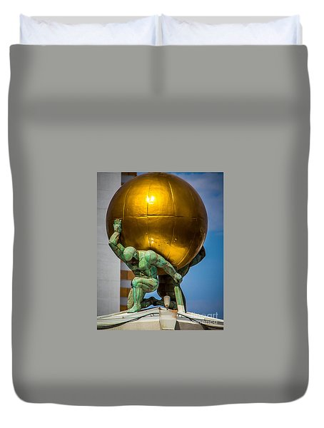 Golden  Duvet Cover