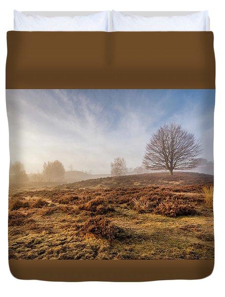 Golden Posbank Duvet Cover