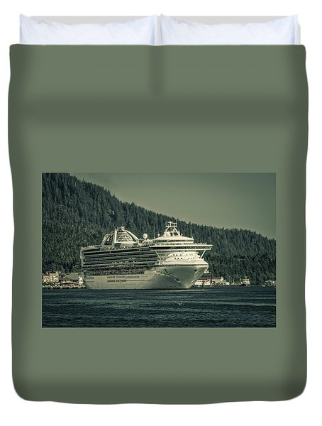 Golden Princess  Duvet Cover
