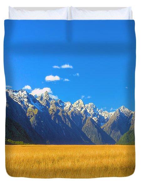 Golden Sea Duvet Cover