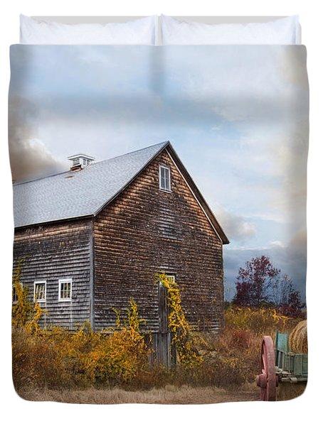 Golden Season Duvet Cover