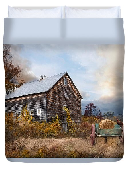 Golden Season Duvet Cover