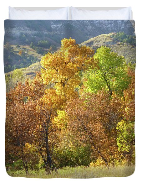 Golden September Duvet Cover