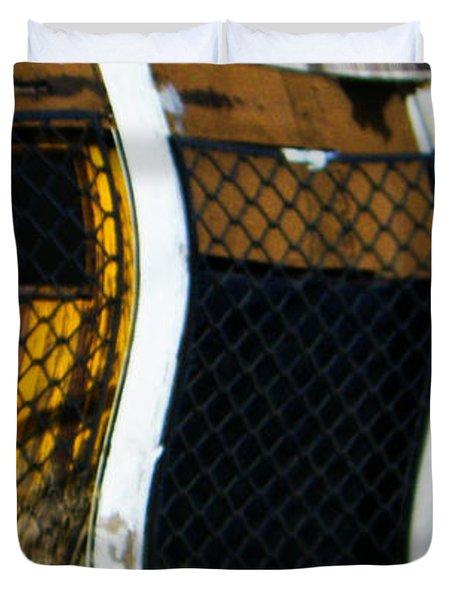 Golden Shed Duvet Cover by Lenore Senior