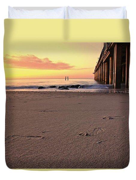 Golden Sunrise  Duvet Cover