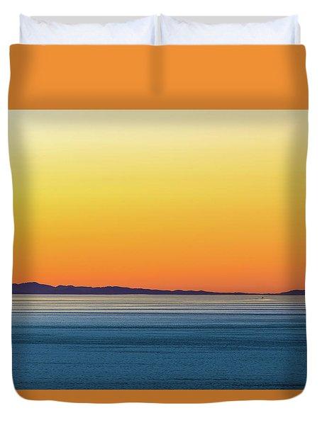 Golden Sunset Series I Duvet Cover