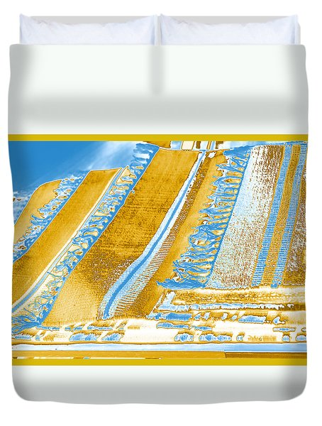 Golden Tapestry Duvet Cover